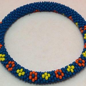 Jewelry - Handmade Crochet Rope Bead Bracelet